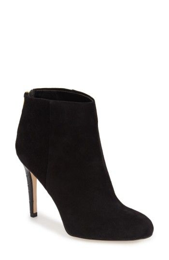 0442d3425b5d3e Free shipping and returns on Sam Edelman  Kourtney  Bootie (Women) at  Nordstrom.com. A trend-savvy almond-toe ankle bootie is shaped from  lustrous suede or ...