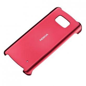 Oryginalne etui do Nokia 700. Plastikowa twarda nakładka, kolor czerwony