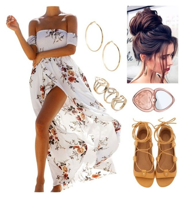 """Bez naslova #49"" by nurkovic-fahreta ❤ liked on Polyvore featuring Isabel Marant, Too Faced Cosmetics and GUESS by Marciano"