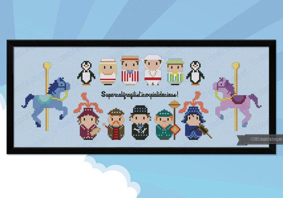 Mary Poppins parody Supercalifragili Cross by cloudsfactory