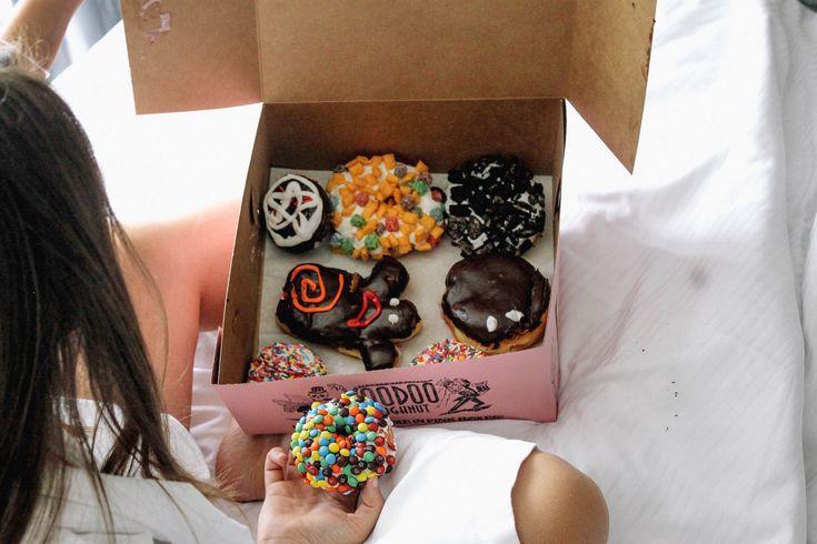 72 Hours in Austin - The Coastal Confidence, @VooDoo Doughnuts, tasty, sweet, sweet treat, dessert, hotel, summer treat