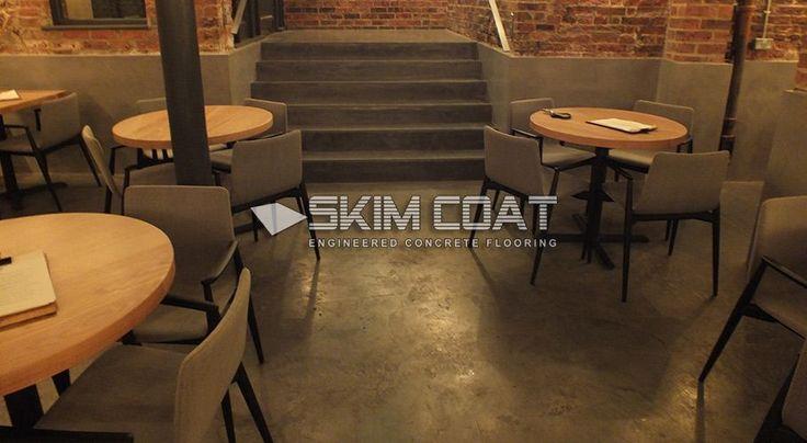 Polished Concrete Floors and Steps