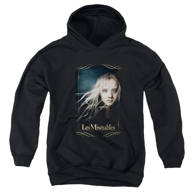Les Miserables/Cosette Youth Pull-Over Hoodie in