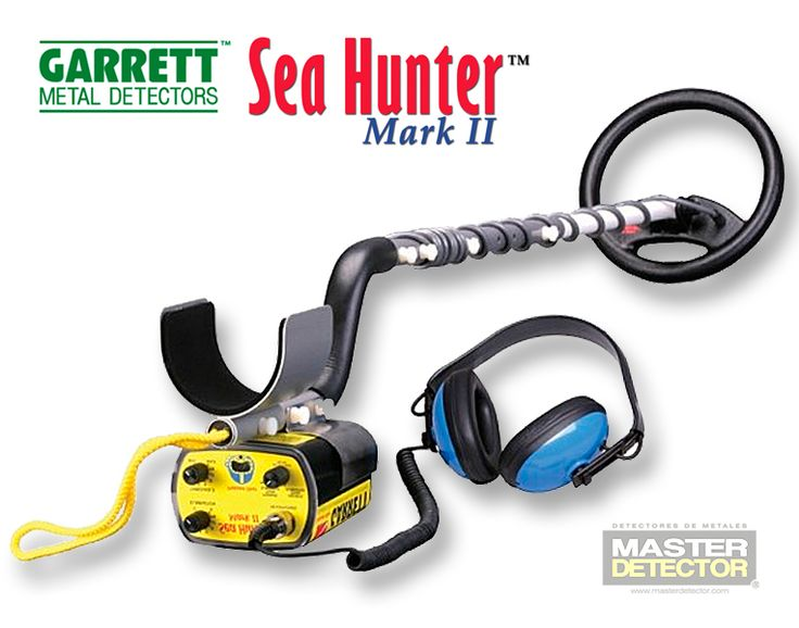 Detector de Metales Garrett Modelo: Sea Hunter