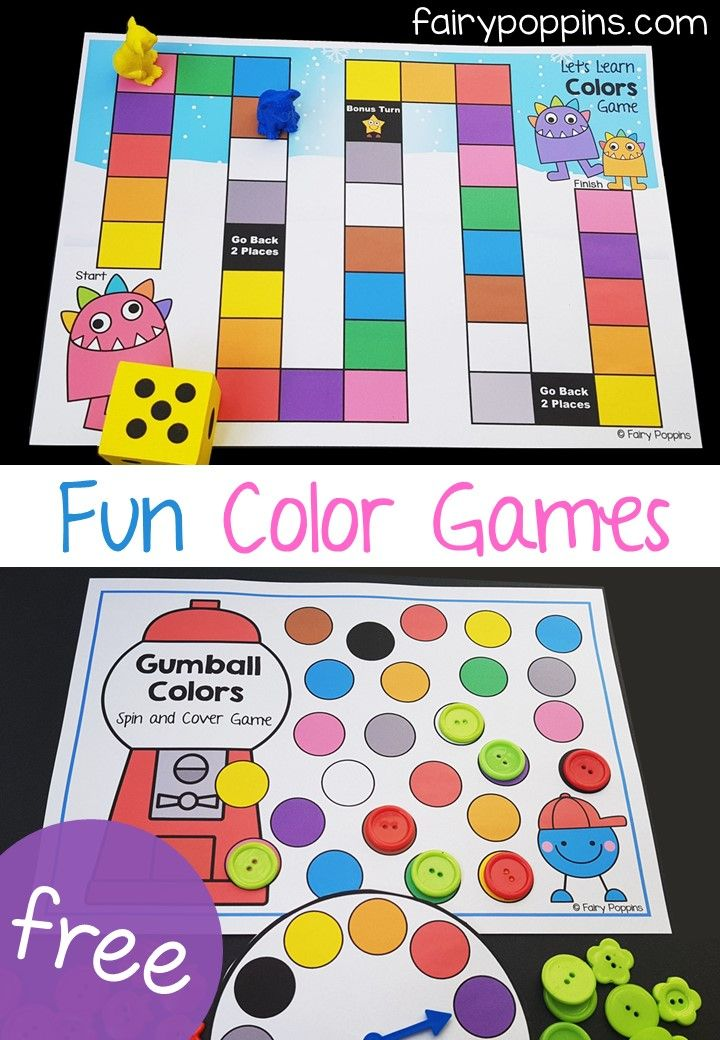 Fun Color Activities For Kids | Color activities, Color ...