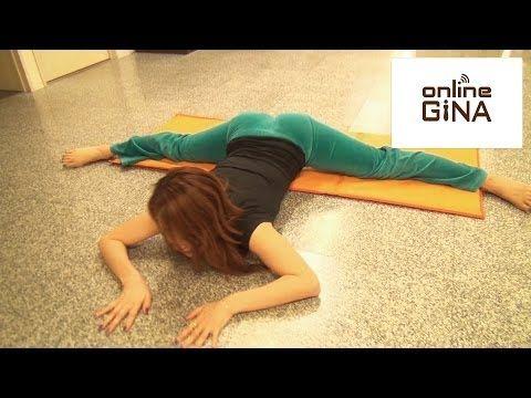 【Online GiNA】体が硬い人でも必ず開脚が出来るようになるストレッチ方法(泉栄子先生) - YouTube