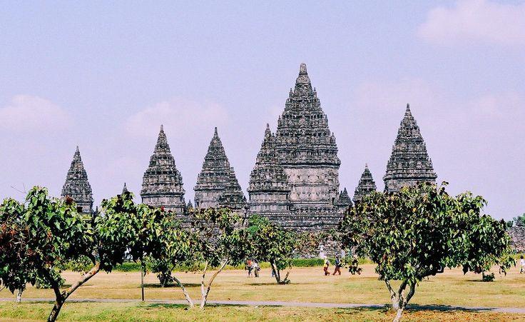 Prambanan, a beautiful Hindi temple in the heart of Java Indonesia.