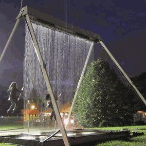 An Innovative Waterfall Swing Where You Won't Get Wet - My Modern Metropolis