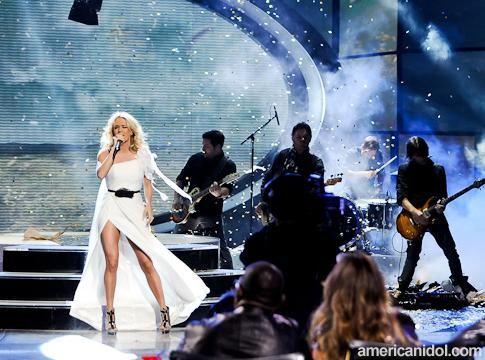 Carrie Underwood on American Idol (May 2012) #CarrieUnderwood #AmericanIdol