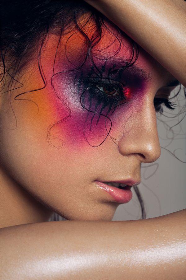 Color on Makeup Arts Served