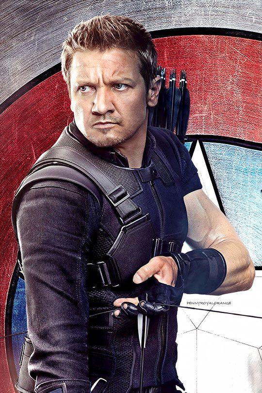 Jeremy Renner/Hawkeye