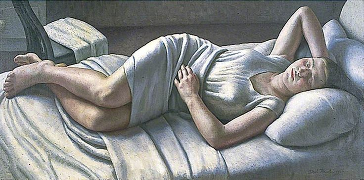 Early Morning, 1927 by Dod Procter (English 1890 - 1972)