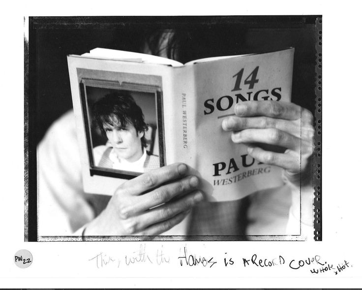 """This is the original 8 x 10 print that Paul used for """"14 Songs"""". In his handwriting, it reads """"This, with the hands is a record cover. Whole shot"""" Currently on eBay for $999"""