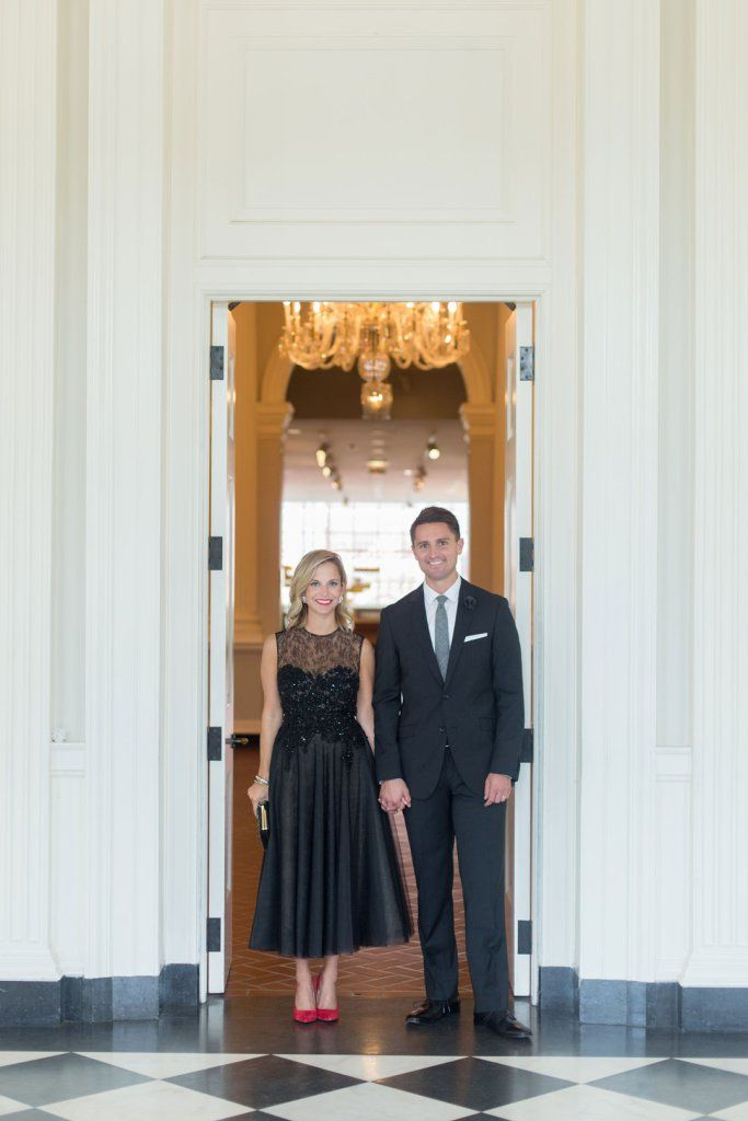Black Tie Optional Wedding Attire for Him and Her // Photo by Jennifer Kathryn Photography
