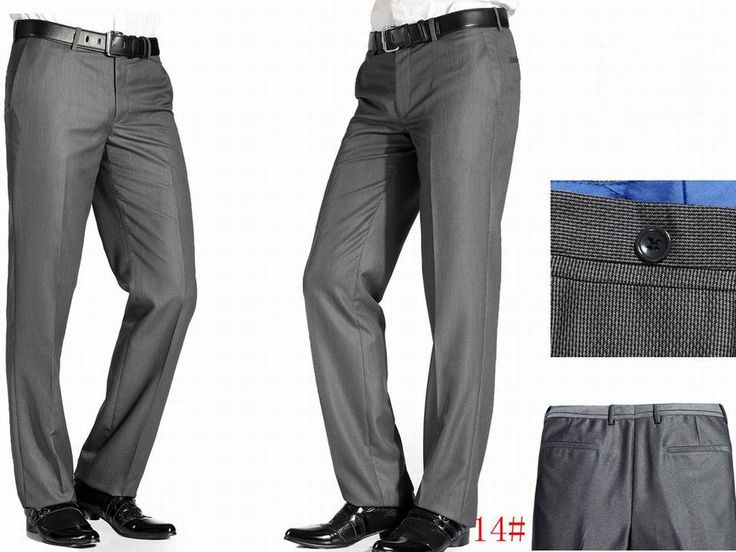 TROUSERS - Formal trousers Armani d8dLy