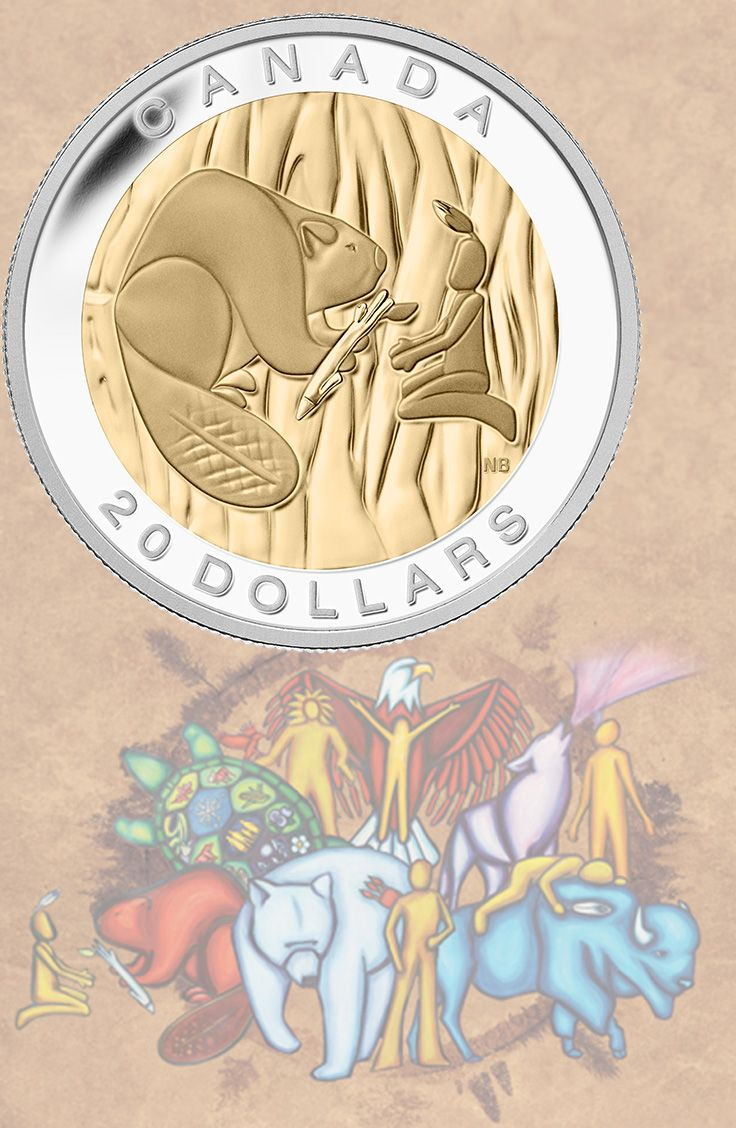 2014 Fine Silver Coin - The Seven Sacred Teachings: Wisdom. Wisdom is one of the Seven Sacred Teachings that honour the traditional concepts of respect and sharing.
