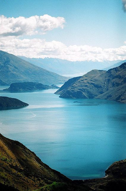 Lake Wanaka - View from Mt. Roy, Otago, South Island, New Zealand