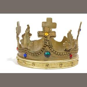 A William Marshall Pee-wee's Playhouse King of Cartoons crown Sold for US$ 1,000 inc. premium