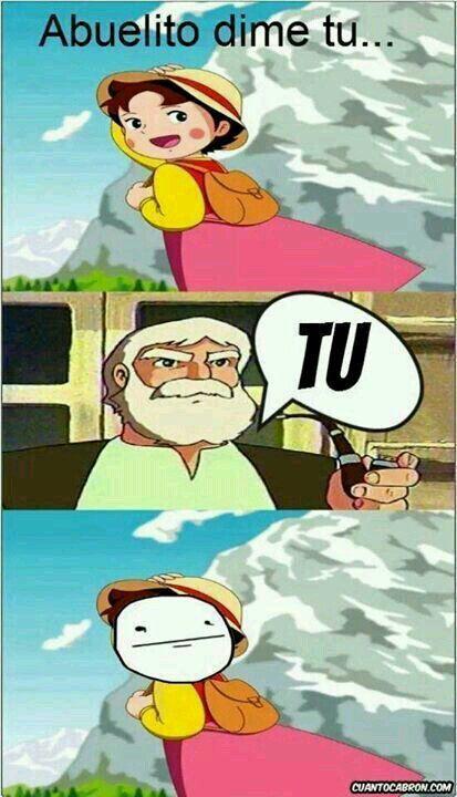 #que abuelo tan enojon