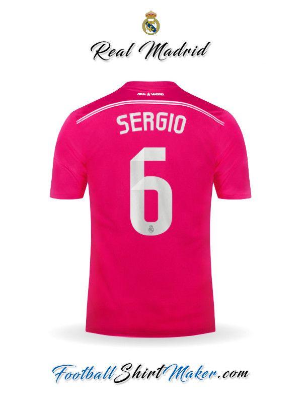 Camiseta Real Madrid CF 2014/2015 Visita Sergio 6