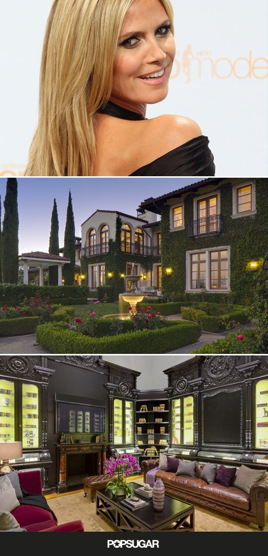 Heidi Klum's $25M House Is Model Perfect I could be happy here!