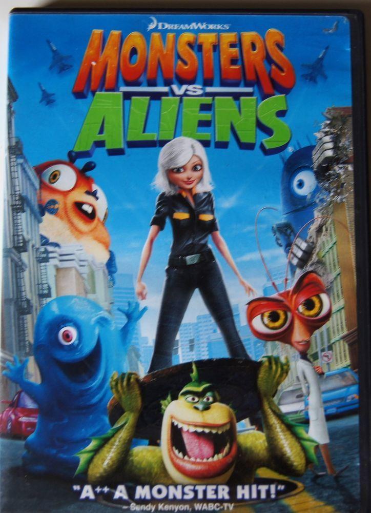 monsters vs aliens full movie hd