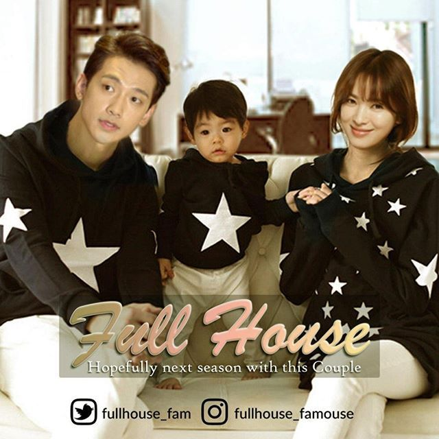 As this possible if they're made #Fullhouse next season with @rain_oppa and @kyo1122 couple, What do you think?  #FullhouseFamouse #songhyekyo #hanjieun 😊😊🙏🙏🙏🏤🌷🌷🌷
