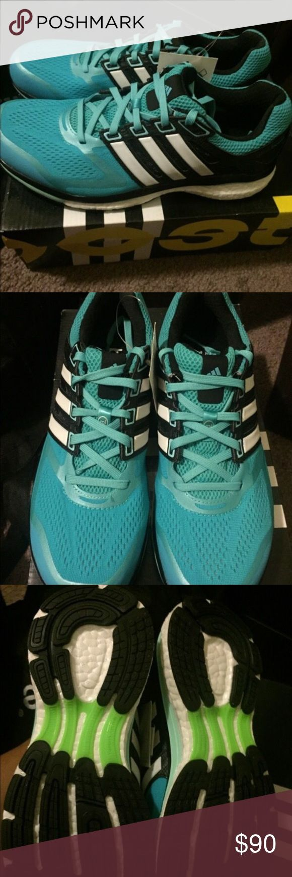Woman's supernova glide 7 1/2 Woman's adidas supernova glide boost one of the best running shoe with ankle support cushion and boost technology 7 1/2 there sold out online hard to find love this shoe for long runs and gym support Adidas Shoes Sneakers