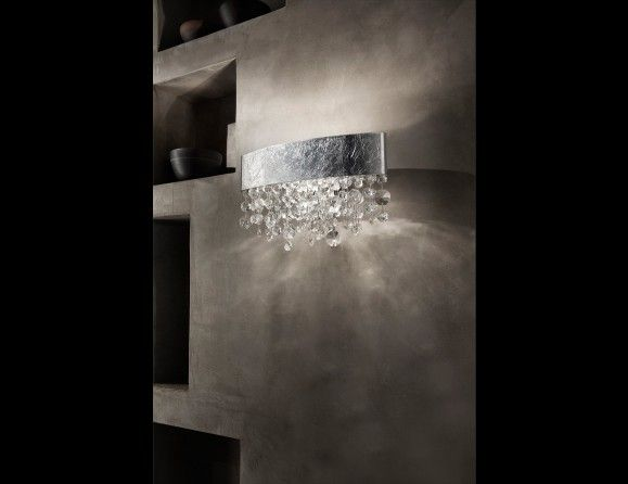 Nella Vetrina Masiero Ola A1 OV 30 Designer Wall Light in Glass