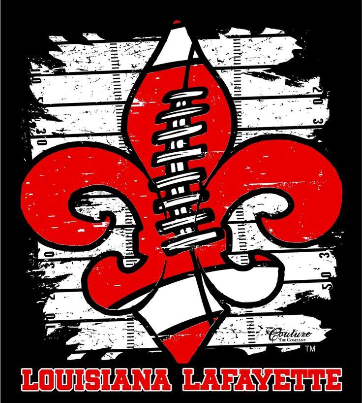 University Louisiana Lafayette Football images