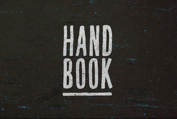 Hand Book by BLKBK on Creative Market