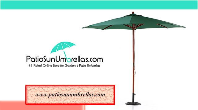 Buy Dark Green Cantilever Umbrella Online with Lifetime Warranty and Free Shipping @ PatioSunUmbrellas.com, Order Now !