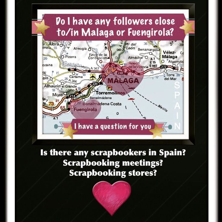 In November I will move to Spain probably to Malaga or Fuengirola then I got a job as a personal assistant there. I wonder now if there are any scrapbooking events / meetings and scrapbooking shops close to those places? It would be fun to get to know some new people with the same interest.  #spainlife #spain #scrapbookingspain #scrapspain #spainscrapbooking #malaga #fuengirola #movingtospain #spainhereicome #sweden #spainen #artspain #spainartist #spainfriends #creativespain…