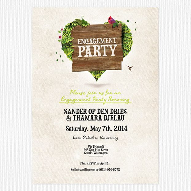 18 best Engagement Party images on Pinterest 20 years, Blue - engagement party invitations free