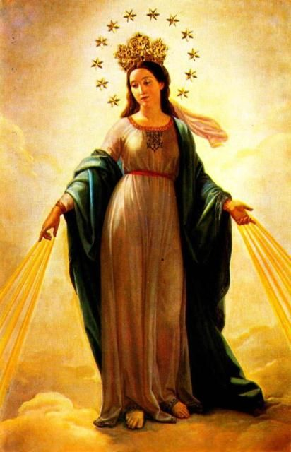 """Whoever does not wish to have Mary Immaculate as his Mother will not have Christ as his Brother."""" Saint Maximillian Kolbe"""