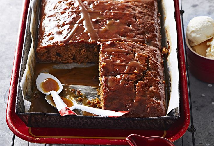 You love sticky date pudding – why not try a sticky date cake?