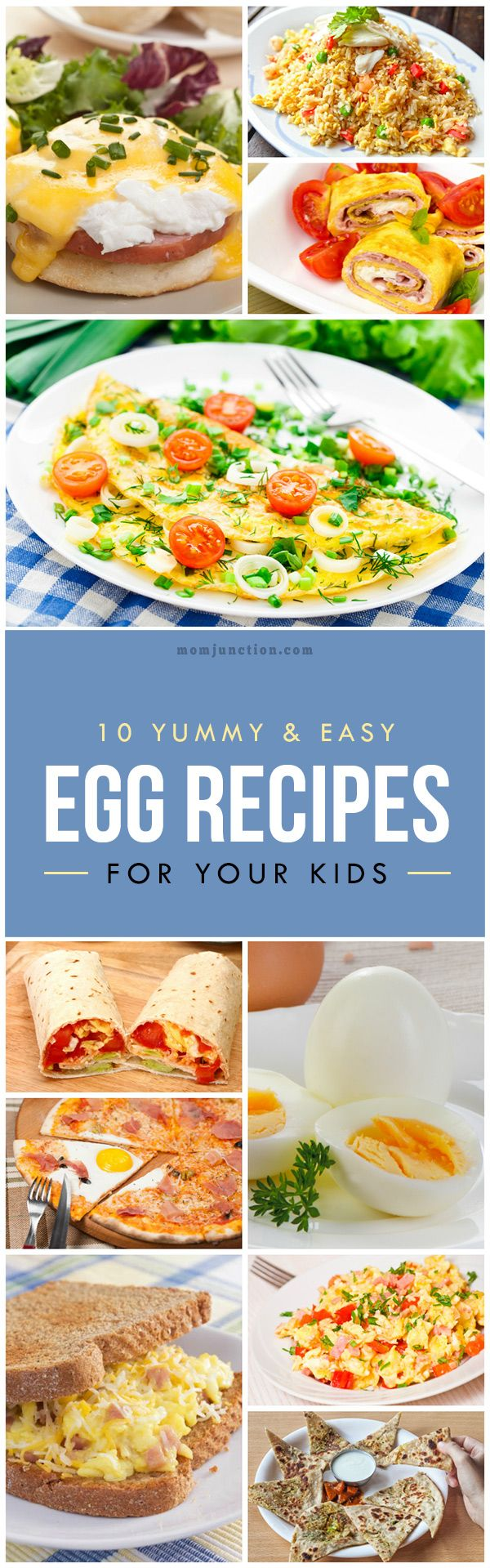 Egg #Recipes For Your Kids :Try out our top 10 easy egg recipes for kids and make your kid an egg lover!