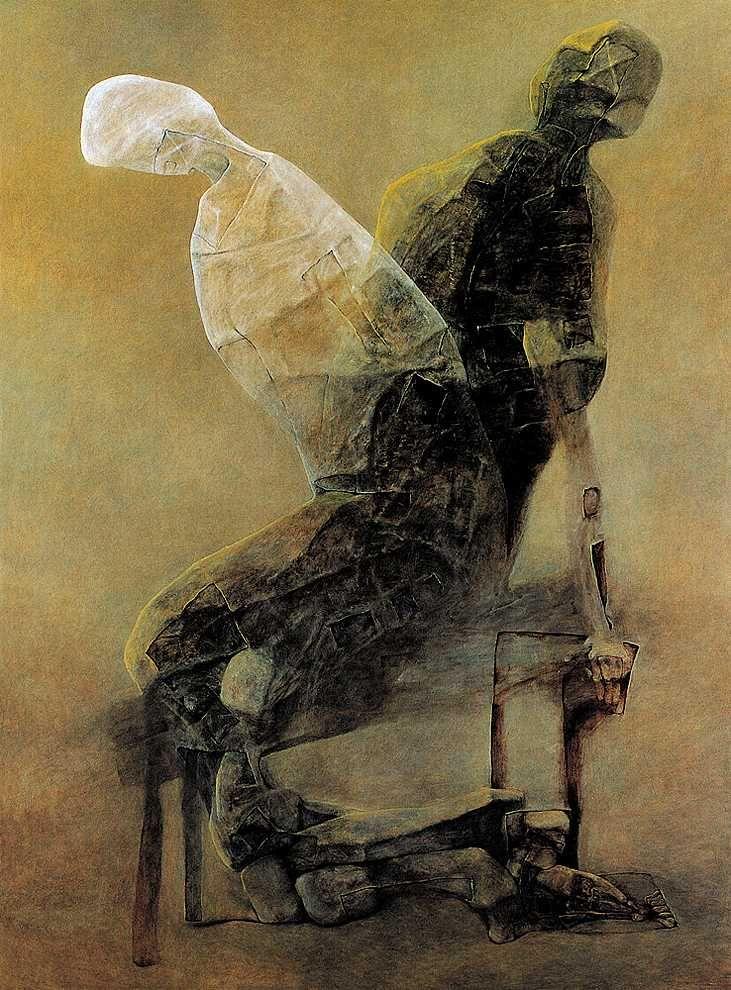 Untitled - by Zdzisław Beksiński (1929 – 2005), Polish
