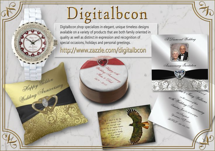 Elegant occasion and event themed gifts, stationary, and accessories!