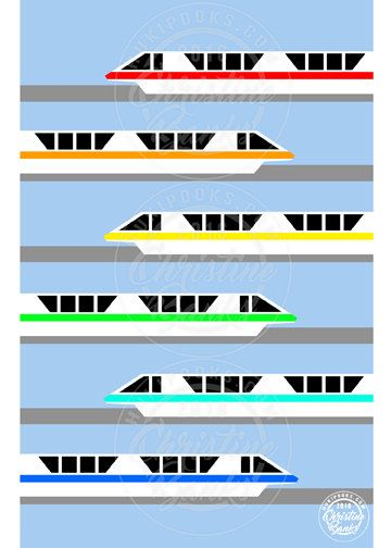 Hey, I found this really awesome Etsy listing at https://www.etsy.com/listing/385837796/disney-themed-art-rainbow-monorail-walt