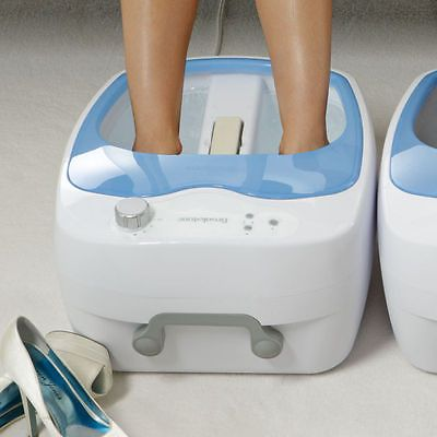 Foot Creams and Treatments: Brookstone Heated Aqua-Jet Foot Spa -> BUY IT NOW ONLY: $129.99 on eBay!