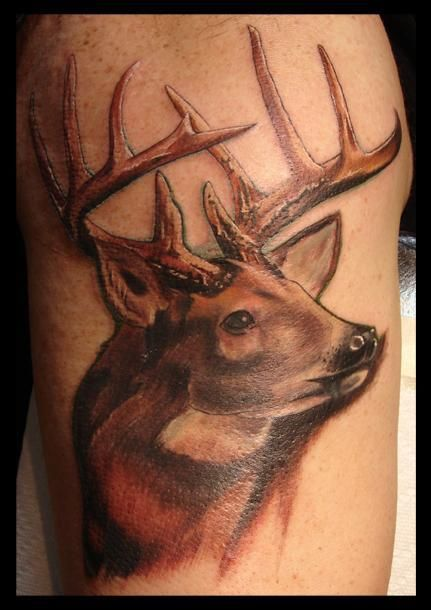 Best 25+ Deer antler tattoos ideas only on Pinterest ...