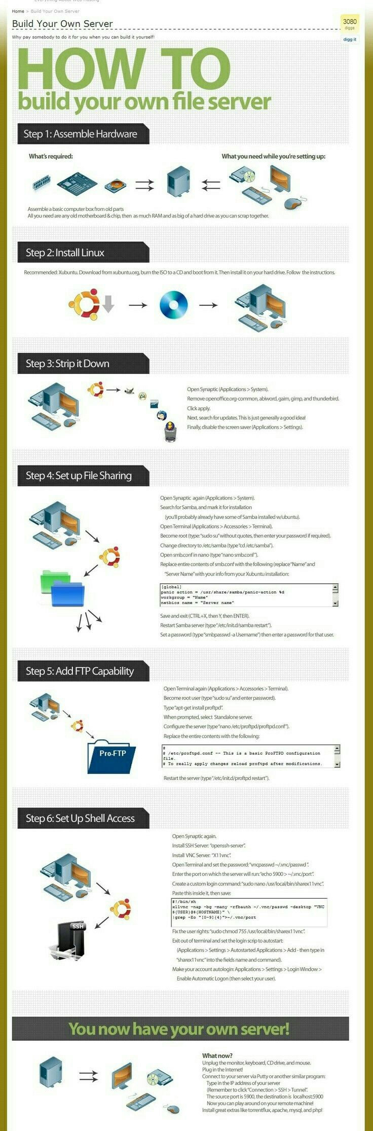 How to create a server? http://www.coolenews.com/get-65000-just-100-investment-no-work/