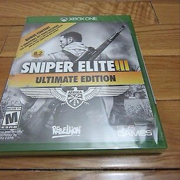 Brand New: Sniper Elite III:Ultimate Edition For XBox One Console Games @ Immortalmastermind.com ($79.95) @ http://immortalmastermind.mybigcommerce.com/brand-new-sniper-elite-iii-ultimate-edition-for-xbox-one/