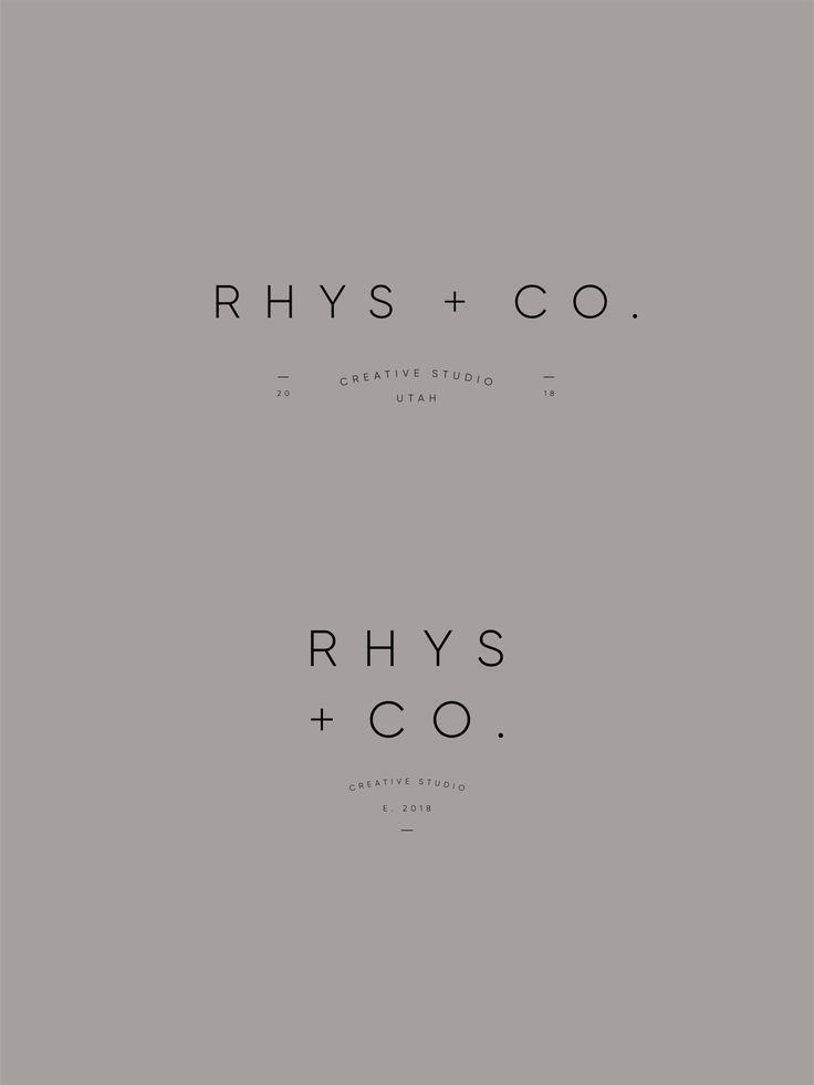 Rhys Co Custom Brand Design by Viola Hill Studio