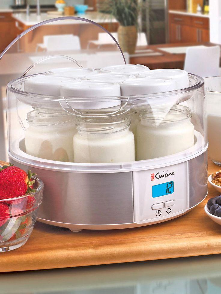 Yogurt maker for homemade yogurt euro cuisine yogurt for Cuisine yogurt maker recipe