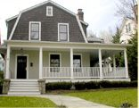 Now,if I could ever buy the Dutch Colonial house I see in Louisiana, I would redo it just like this