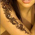 Glitter Mehndi Designs For Eid 2013