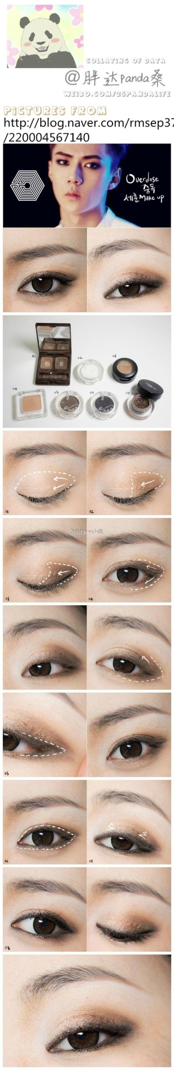 asian makeup exo