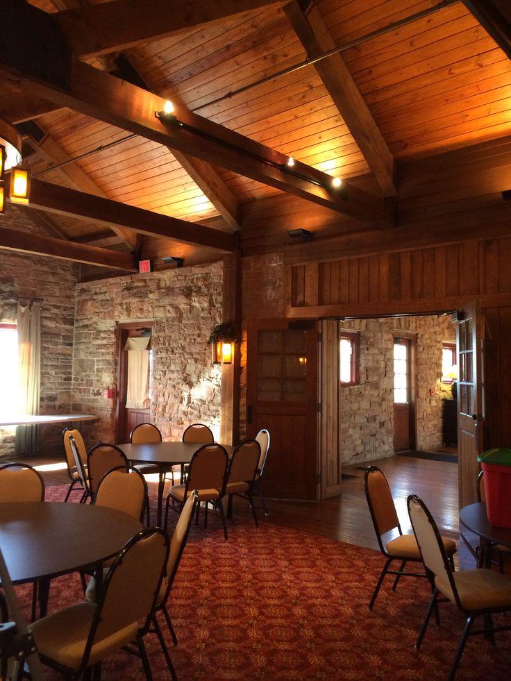 Monte Sano Lodge Huntsville Al See More Reception Hall Looking Into Ceremony